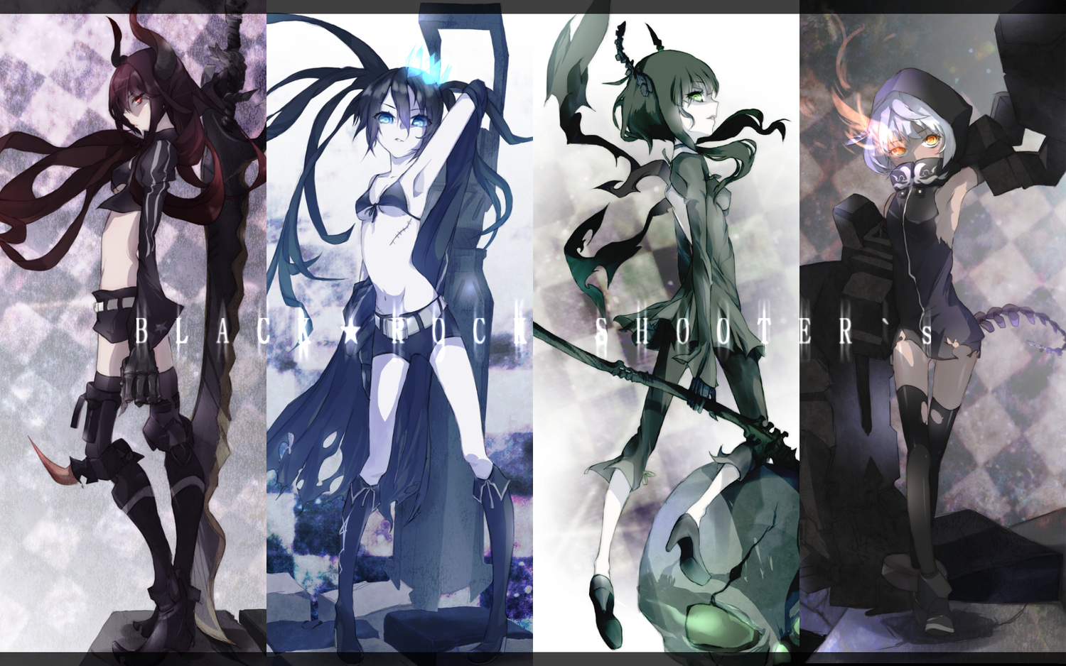 Wallpapers Pack 7 Black Rock Shooter 僕はコエズミです
